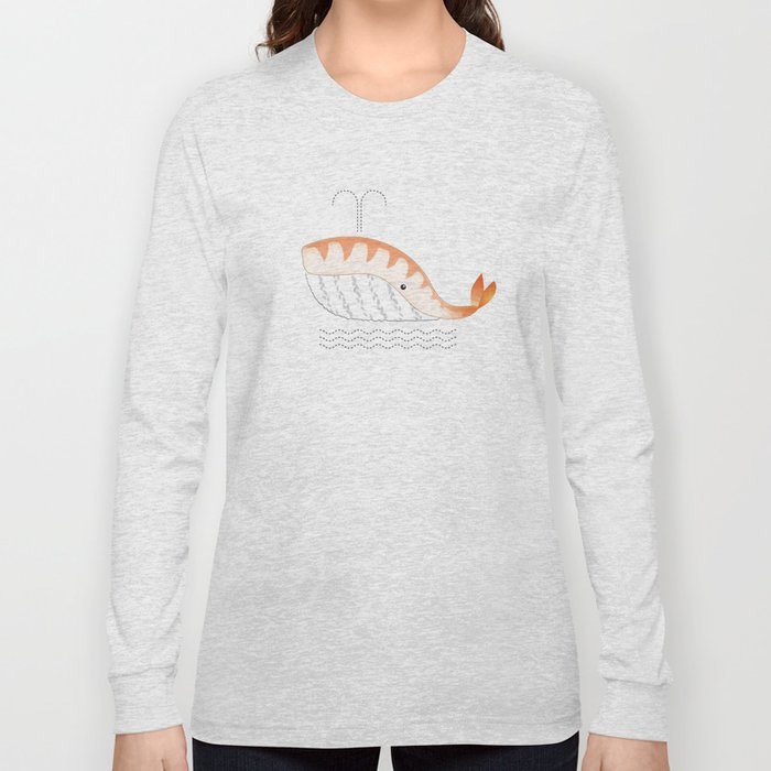 Legal Whale-Sushi Long Sleeve T-shirt