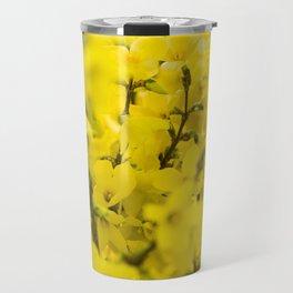 Yellow spring blooming Travel Mug