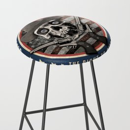Second Amendment Bar Stool