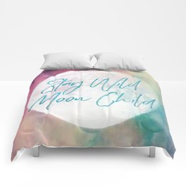 Stay Wild Moon Child Comforters