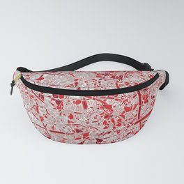 Welcome to the Jungle RED Fanny Pack