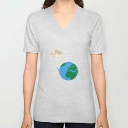 Moonbrella Unisex V-Neck