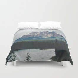 Above the Tree Line Duvet Cover