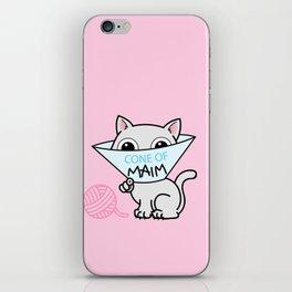 Payback - Cone of Maim - Kitty Cat Shame iPhone Skin