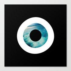 Air Evil Eye Canvas Print