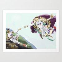 Chris Paul, Point God Art Print