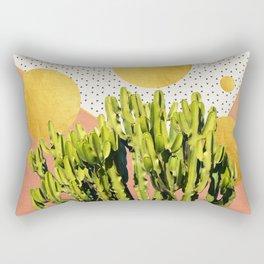 Cactus Dream #society6 #decor #buyart Rectangular Pillow