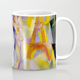 "Robert Delaunay ""La Ville de Paris"" Coffee Mug"