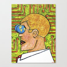 TECHNOCRAT Canvas Print