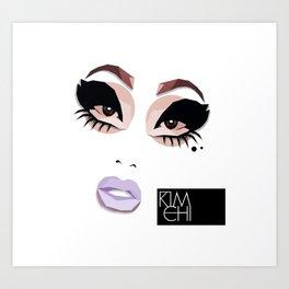 KIM CHI Art Print