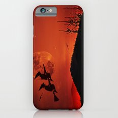 Two witches, one broom iPhone 6 Slim Case