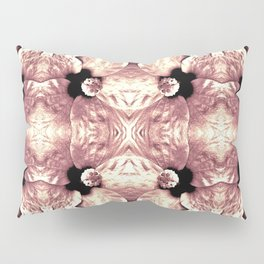Shiny Old Rose Flower Design, Pattern Pillow Sham