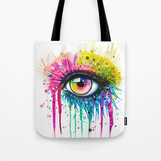 """""""Rainbow in your eyes"""" Tote Bag"""