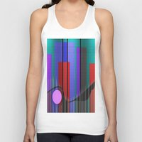 band Tank Tops featuring Jazz Band by Kristine Rae Hanning