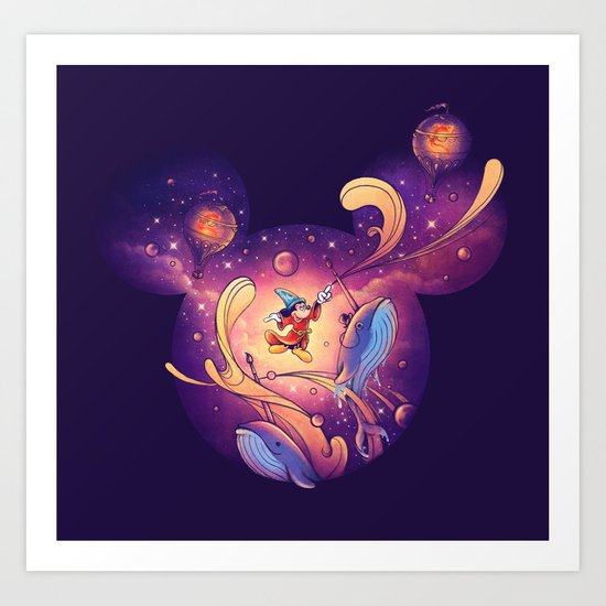 Beyond Your Imagination Art Print