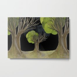 Duality Tree Metal Print