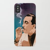 django iPhone & iPod Cases featuring Django Reinhardt by Kim Hoffnagle