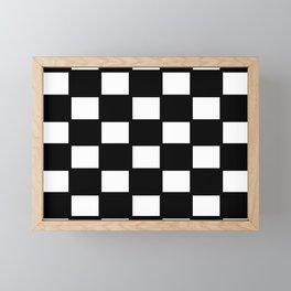 Race flag Framed Mini Art Print