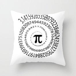 Math Pi Day Nerdy geek humor gift Irrational Throw Pillow
