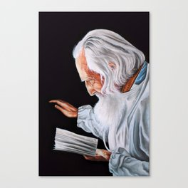 Old Wise Canvas Print