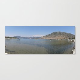 Panoramic Seascape of The Bay of Selimiye, Turkey Canvas Print