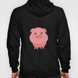 Adorable Pig Cute Baby Pig for Pig Lovers Hoody