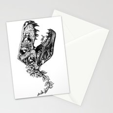 Jurassic Bloom - The Rex.  Stationery Cards