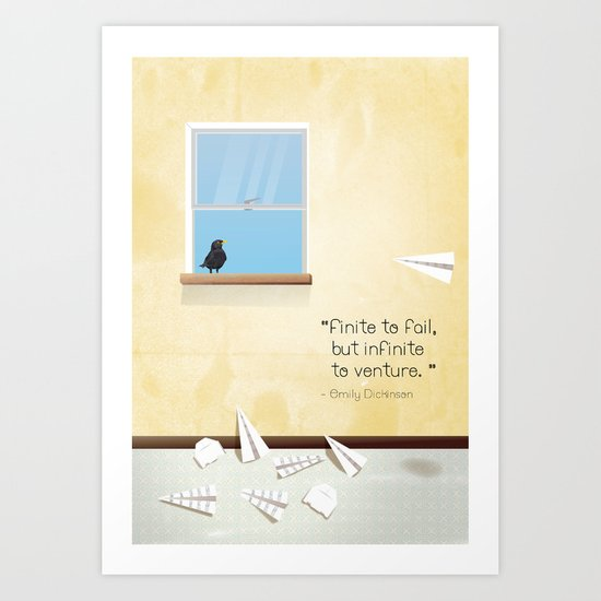 Of dreams and things Art Print
