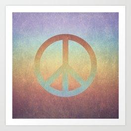 Peace V Art Print