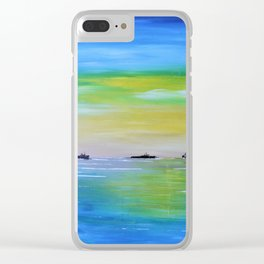 Ship Wrecked Clear iPhone Case