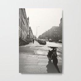 Streets of Edinburgh Scotland  Metal Print