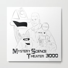 Mystery Science Theater 3000 Metal Print