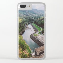 Fontana Dam • Appalachian Trail Clear iPhone Case
