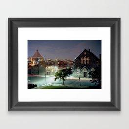Johnston Square Framed Art Print