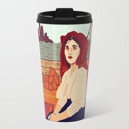 A Better Life, Italian Immigrant Woman Travel Mug