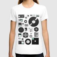 data T-shirts featuring Data by Florent Bodart / Speakerine