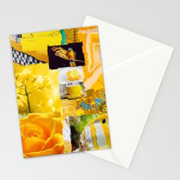 """""""Yellow!"""" Stationery Cards"""
