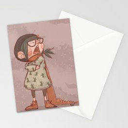 Maus winter Stationery Cards