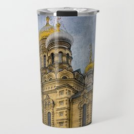 Church of the Assumption of the Blessed Virgin Mary - St. Petersburg Travel Mug