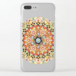 Gypsy Caravan Mandala Clear iPhone Case