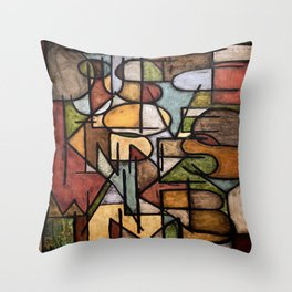 Do Justice, Love Kindness, Walk Humbly Throw Pillow