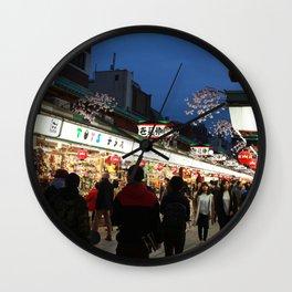 Tokyo Street Wall Clock