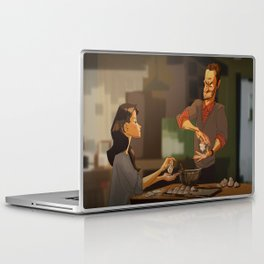 Elementary - new years! Laptop & iPad Skin