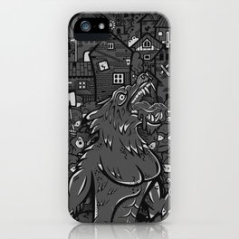 WOLVES OF PERIGORD iPhone Case