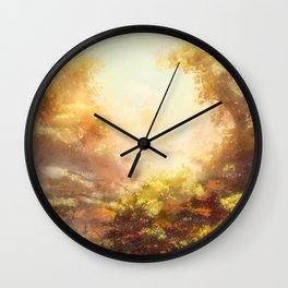 Summer in Wolfsburg, Germany Wall Clock