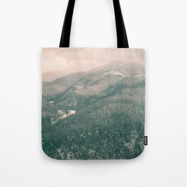 West Virginia Mountains Tote Bag
