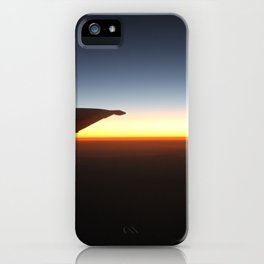 Sunset Above the Clouds iPhone Case