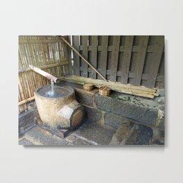 springwater cooking pot Metal Print