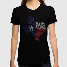 Texas - Hand Sketched Doodle Art T-shirt