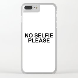 YOU 001 Clear iPhone Case